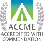 """ACCME Accredited with Commendation"""